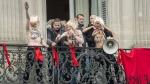 FN, LePen, Femen, 1ermai, France, République, Opéra