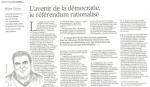 référendum, brexit, UE, démocratie, souveraineté, europe, supranationalité, subsidiarité, institutions, Cameron, Merkel, Hollande, thèse, Mahor Chiche